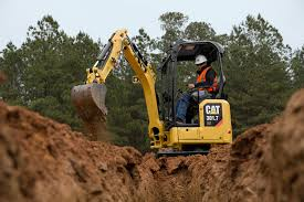 Mini Diggers for tight access excavation